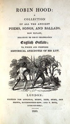 Title Page to the 1823 Edition of Ritson's Anthology