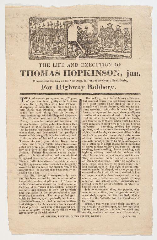 Thos Hopkinson Highway Robbery