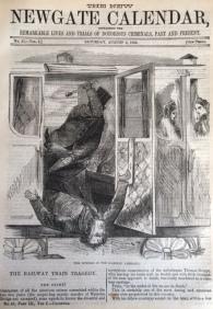 Anon. 'The Railway Train Tragedy'. The New Newgate Calendar, Vol. 1, No. 41 (1864). [Scanned Image].