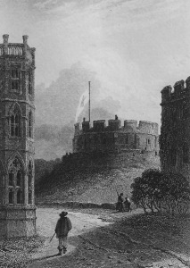 Walter Scott, Woodstock (1826) Round Tower, Windsor