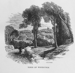 Walter Scott, Woodstock (1826) Title Page Illustration