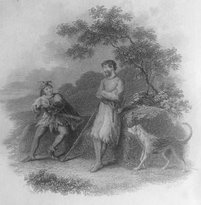 Title Page Illustration to Ivanhoe (1830 edition)