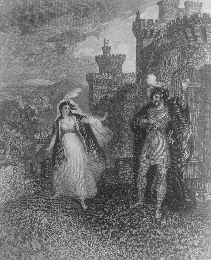 Ivanhoe Frontispiece 1830