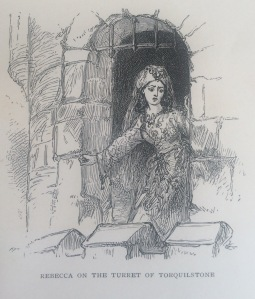 Title Page Illustration to Ivanhoe (1871 edition)