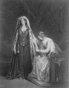 Frontispiece to Ivanhoe (1871 edition)