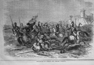 Encounter of the French and English Knights