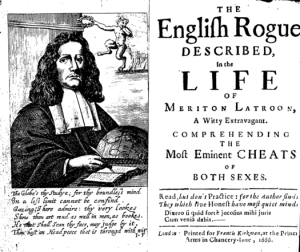 The English Rogue (1665) by William Head