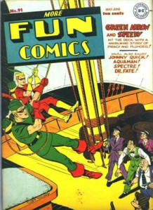 Green Arrow in More Fun Comics (1941)
