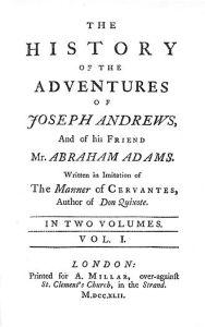 Henry Fielding's Joseph Andrews (1742)