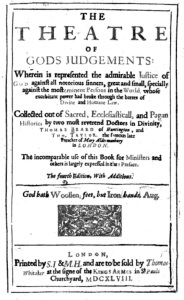 The Theatre of God's Judgments (1748)