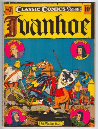 ivanhoe comic