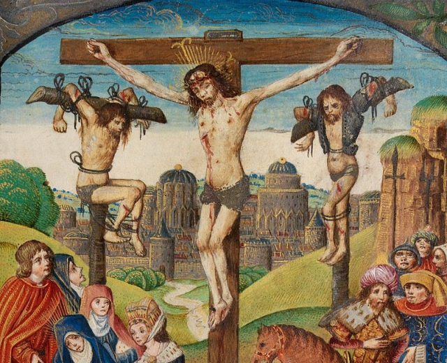 Dimas and Gestas: Bandits Crucified with Christ – Here