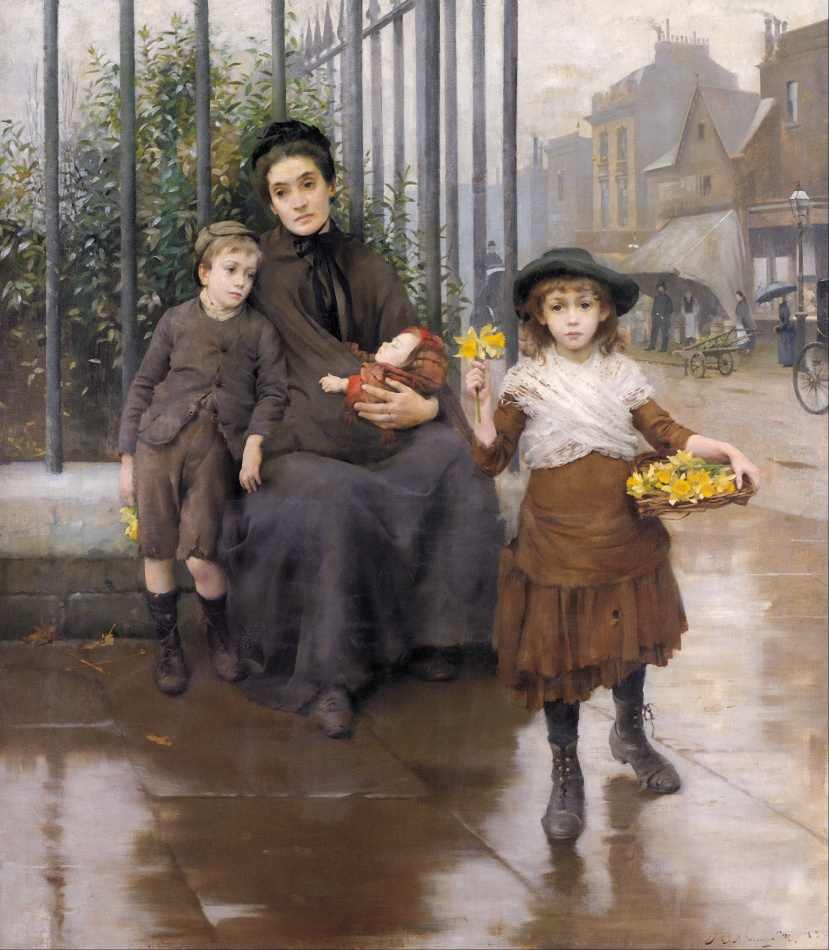 Thomas_B._Kennington_-_The_pinch_of_poverty_-_Google_Art_Project