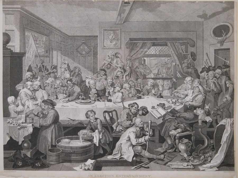Hogarth-Election