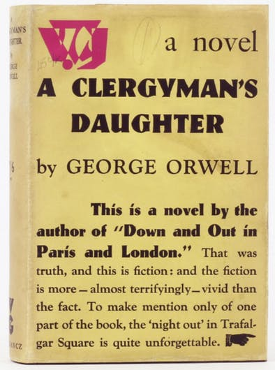 ORwell Clergyman's Daughter image