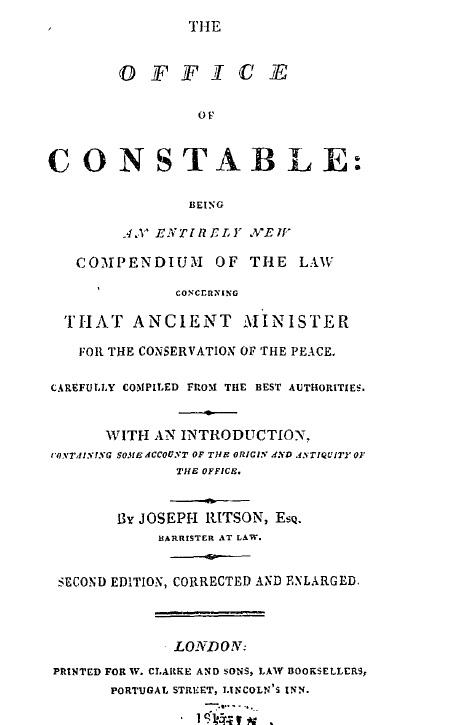 Ritson Constable