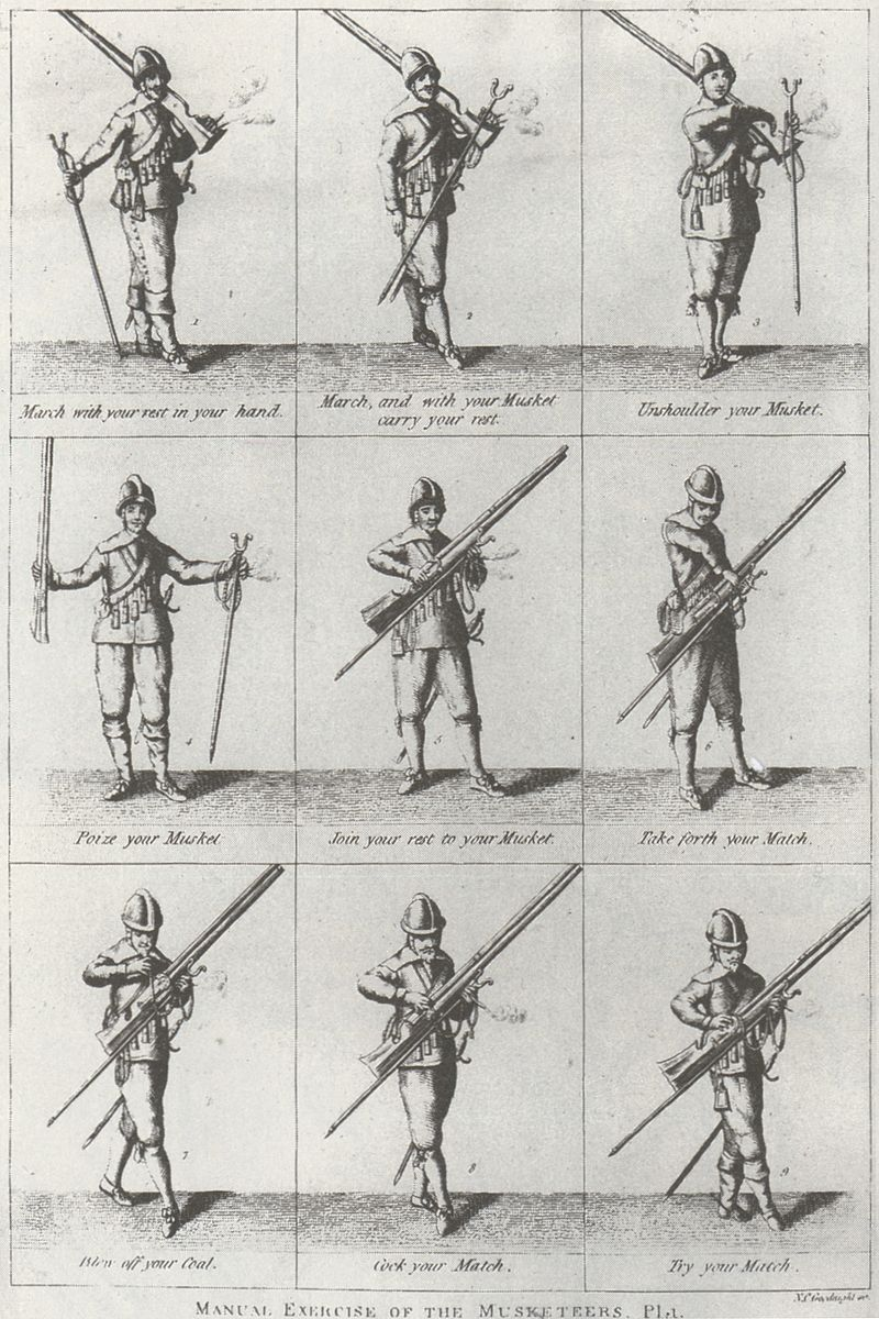 800px-Manual_of_the_Musketeer,_17th_Century