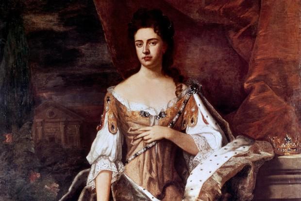 Portrait of Anne II Stuart (London, 1665-1714), Queen of England, daughter of James II, wife of William of Orange.